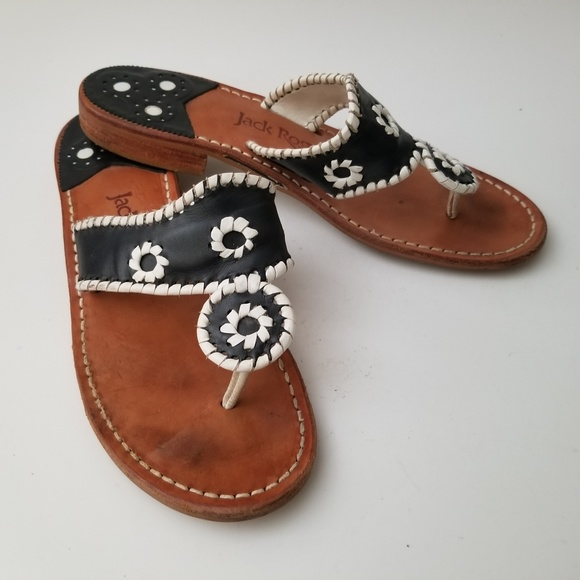 59b22a33d40f Jack Rogers Shoes - Jack Rogers Navajo Palm Beach Sandals